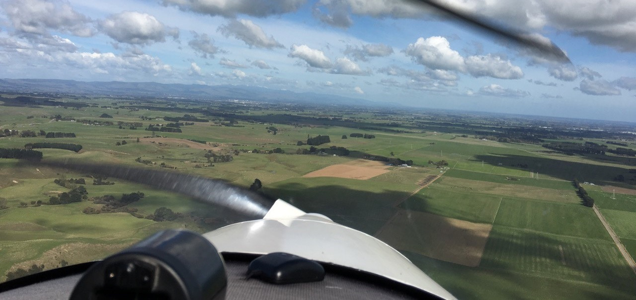 photo of flying TRD 2019