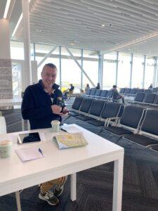 Club Member at PN Airport