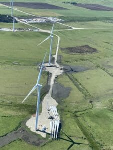 Windmills From Cockpit view